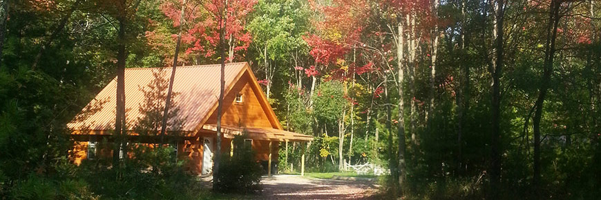 Copper Cabin in Autumn
